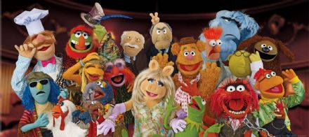The Muppet Show mural wallpaper 202x90cm